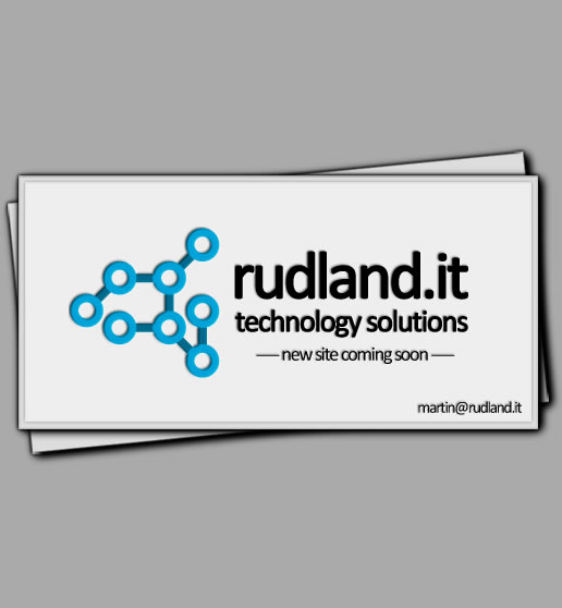 Future website of Rudland.it Technology Solutions